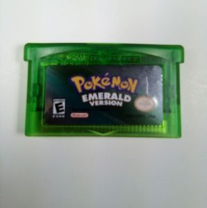Pokemon Emerald Version For Nintendo Gameboy Advan